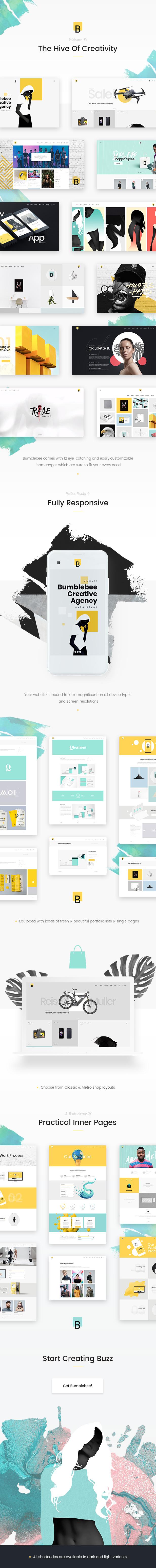 Bumblebee - Web Design Agency Theme - 1